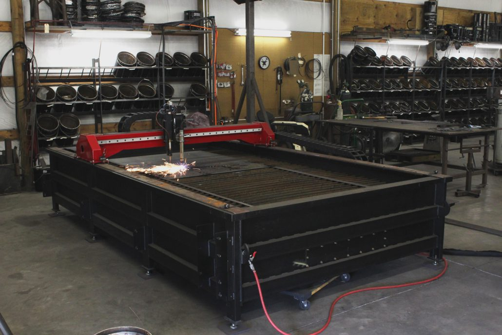 CNC PLASMA CUTTER - NORTHERN CRESCENT IRON