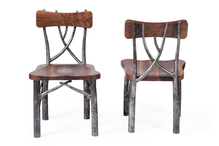 LIfe Chairs collaboration with The Old Wood Co.