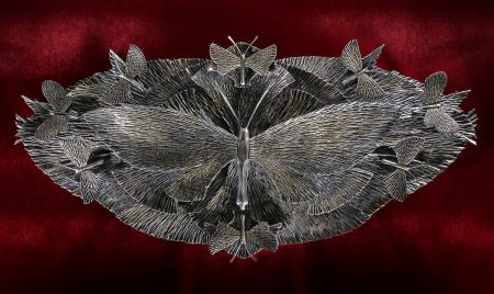 Metal Iron Butterfly
