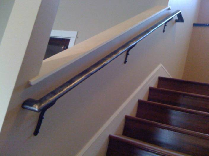 Simple Metal Iron Handrail Stair Railing