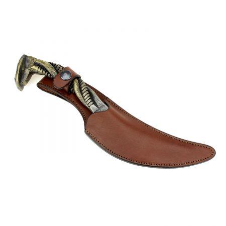 Leather Knife Sheath Brown