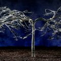 Japanese Maple Tree Lifesize Sculpture for Garden or Patio
